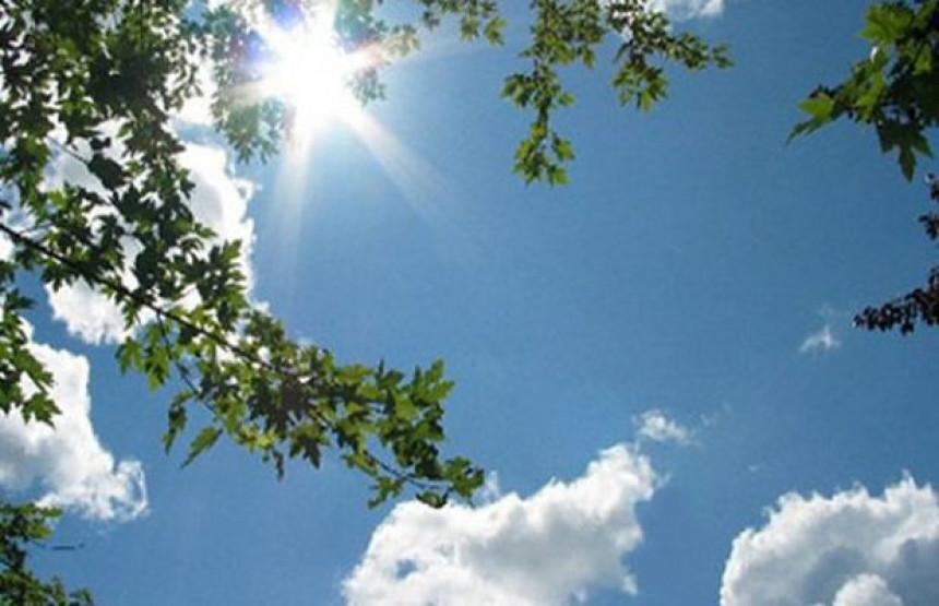 Sunčano, na jugu povremena kiša