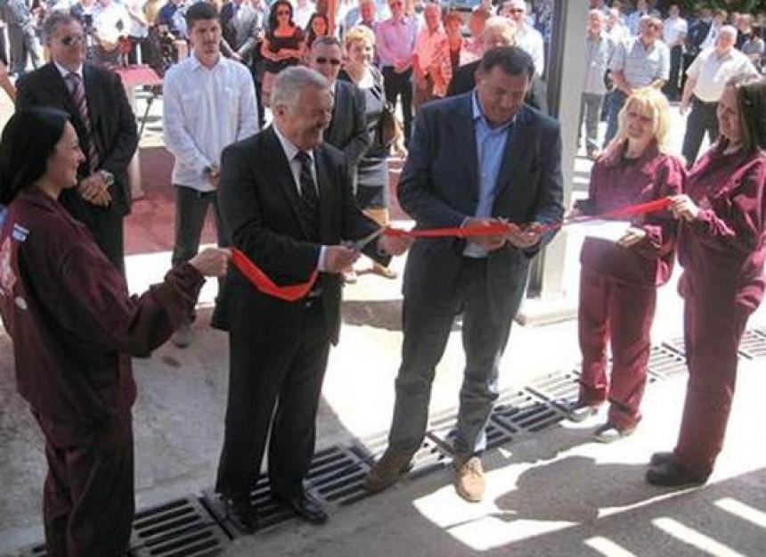 Dodik i Rajko otvorili fabriku u Milićima