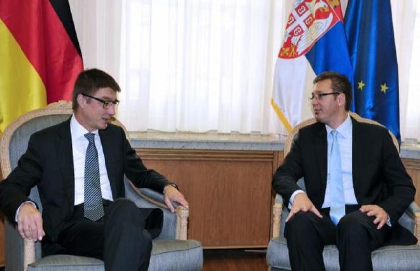 Njemačka razumije poteškoće Srbije