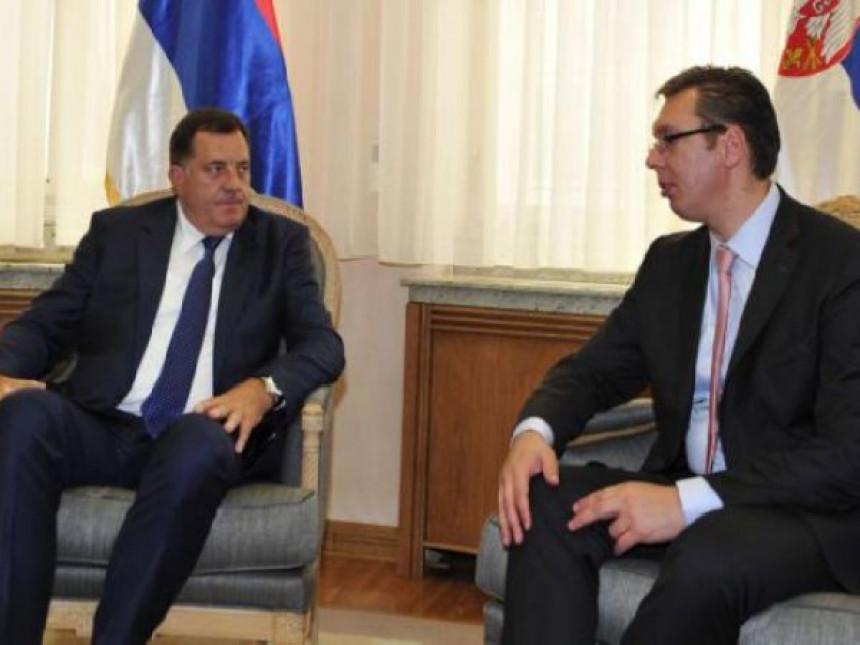 Dodik vjeruje da je rekao, Vučić želi da vjeruje da nije