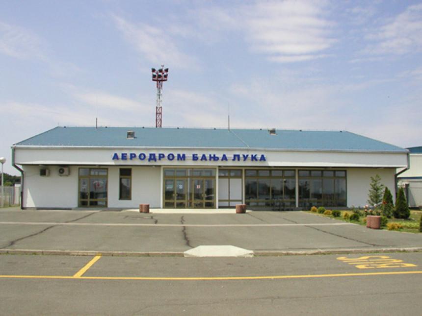 Hapšenje na banjalučkom aerodromu