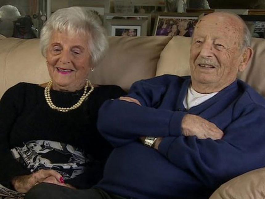 Енглески пар 80 година у браку