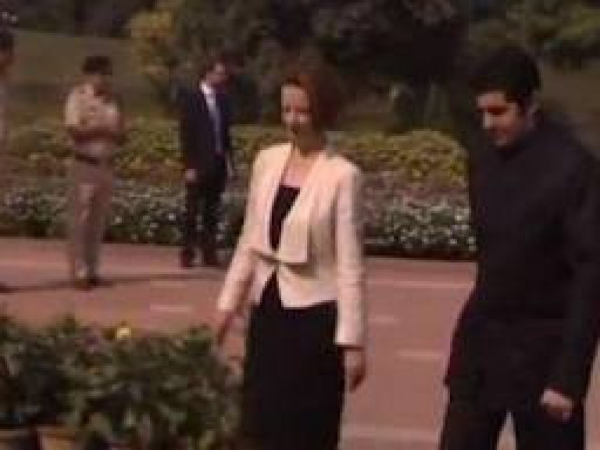 Australijska premijerka pala na nos u Indiji