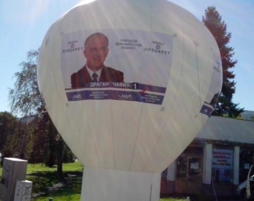 Opozicija ponovo na meti vandala