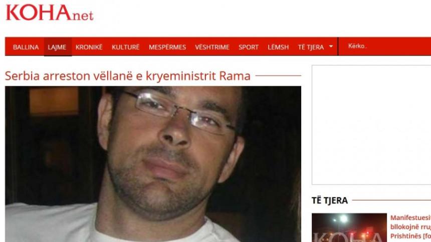 Brat premijera Albanije organizator svega!