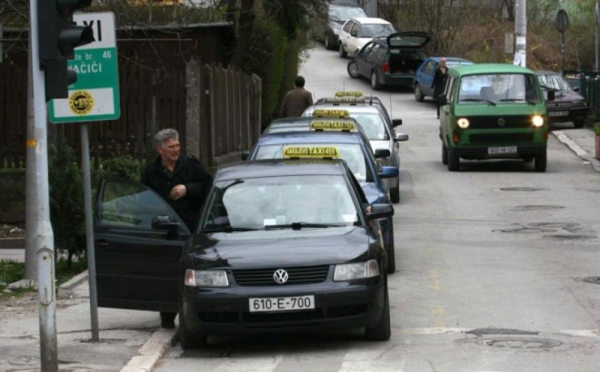 Činovnici za taksi spiskali 360.000 KM