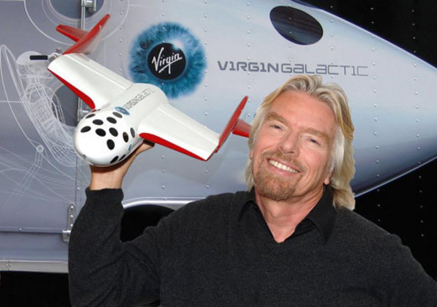 Ričard Brenson: Nastaviću projekat svemirskog turizma