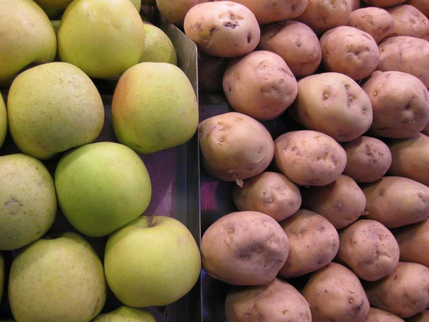 Sada sumnjivi i jabuke i krompir!