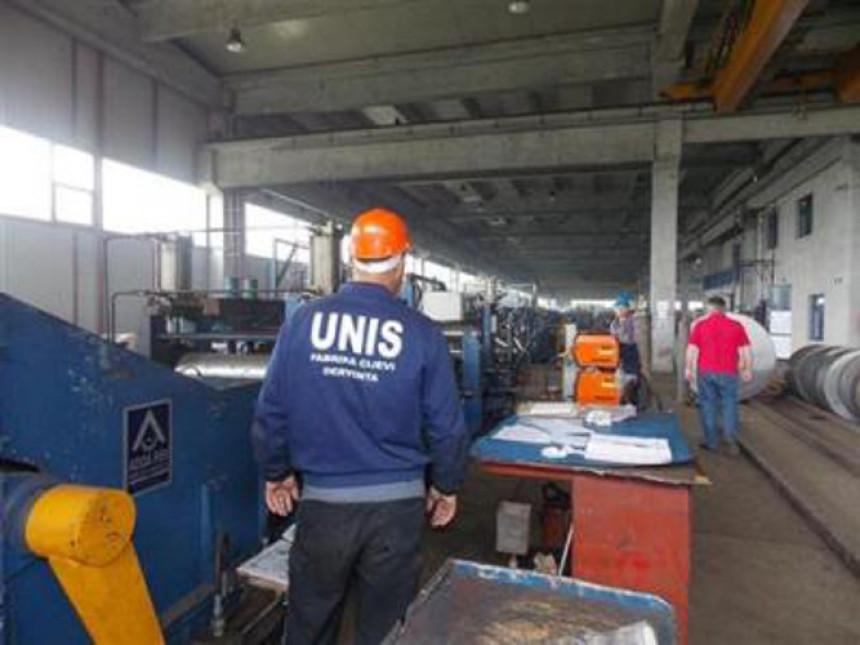 """Štrajk radnika """"Unisa"""" iz Dervente"""