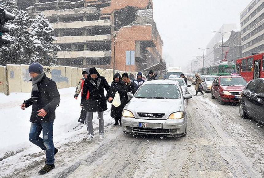 U Srbiji od sutra minus 18 stepeni!