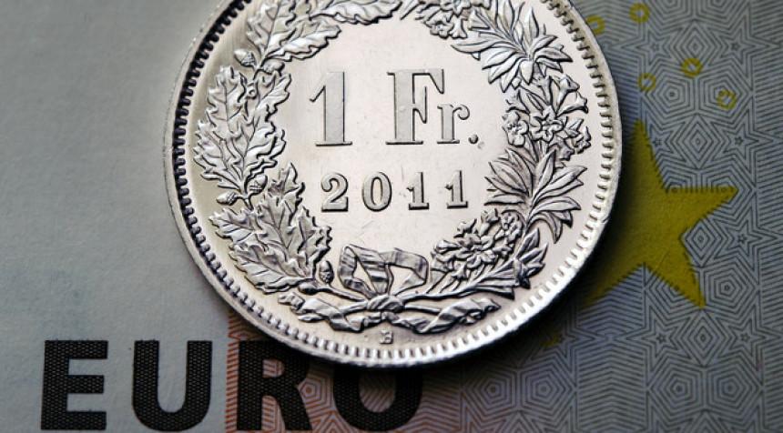 Nagli skok (1.86 KM) švajcarskog franka