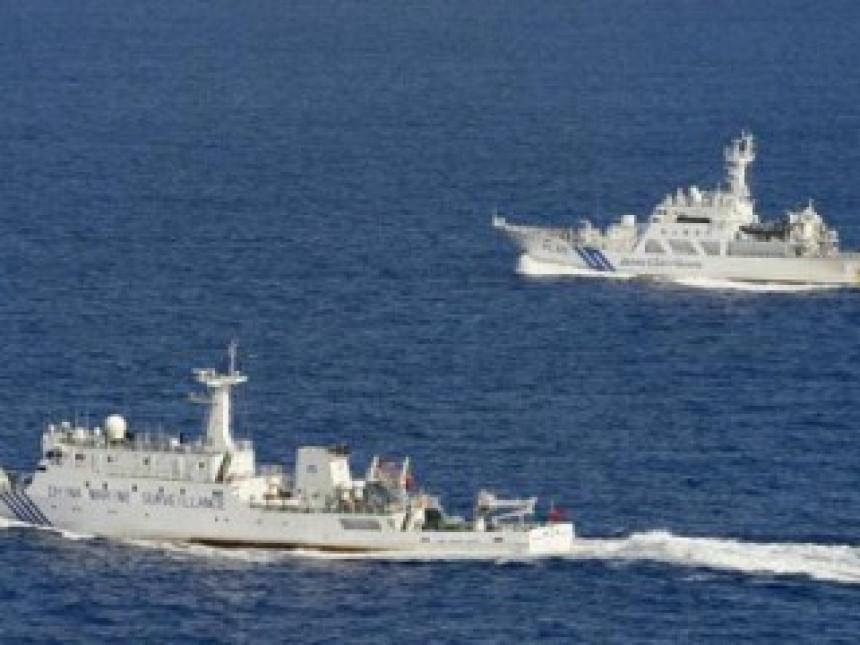 Kineski brodovi ušli u zonu spornih ostrva