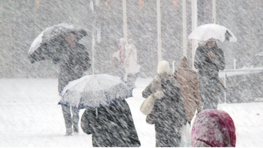 Sloveniju zahvatila snježna mećava