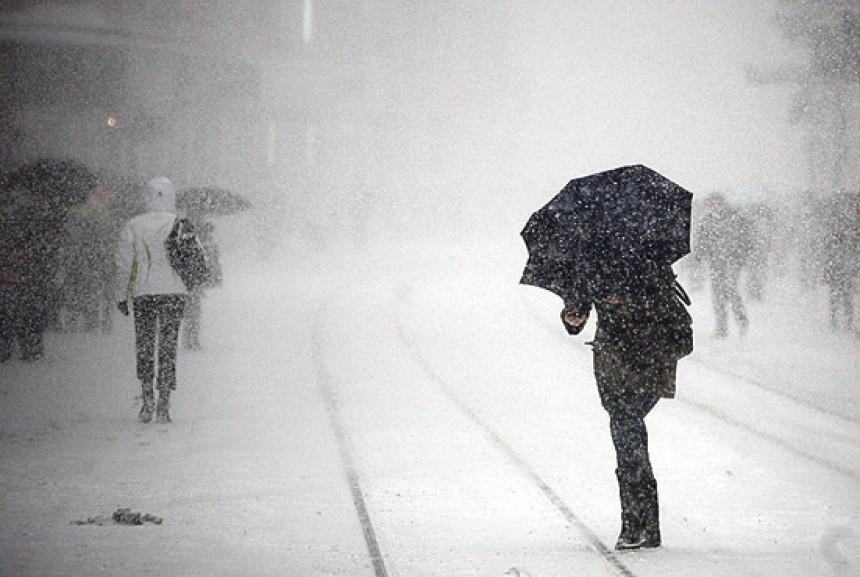 Snježno nevrijeme u Republici Srpskoj