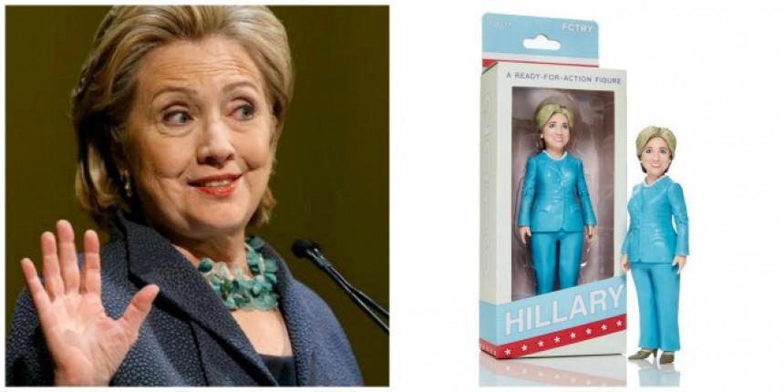 Akciona figurica s likom Hilari Klinton