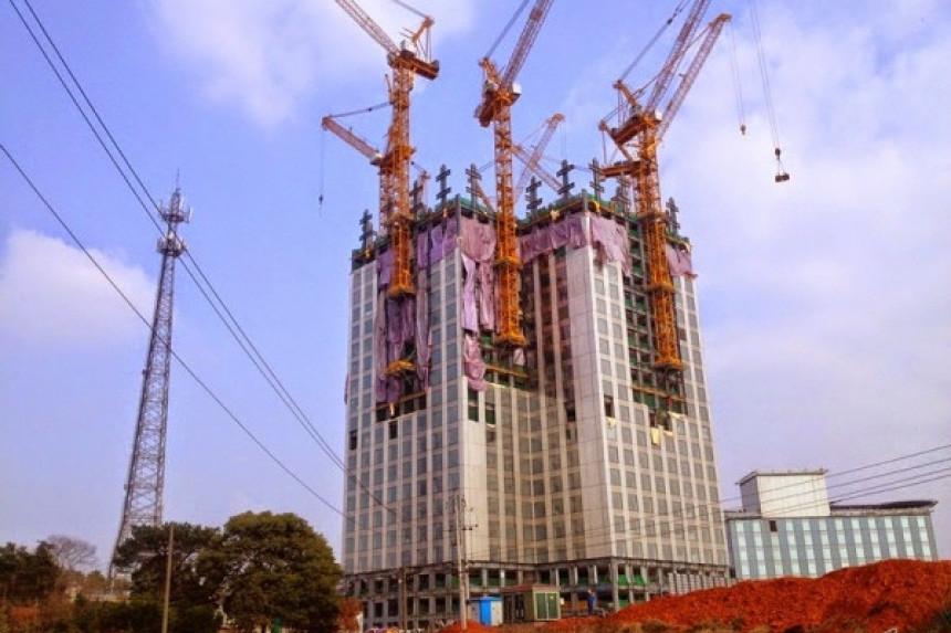 Kinezi grade neboder od 57 spratova za 19 dana!