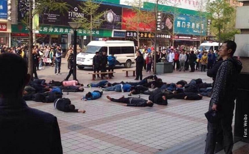 Kina: Taksisti pokušali grupno samoubistvo