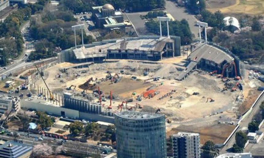 Срушен ''Звездин стадион'' у Токију!
