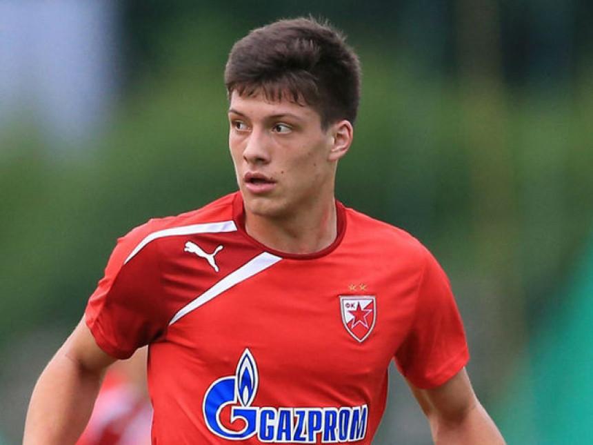 Luka Jović veliki optimista pred derbi!