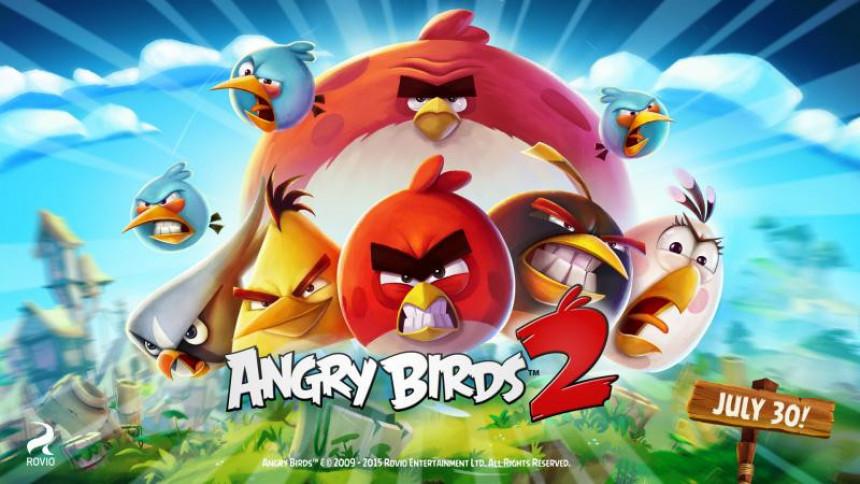 Stiže Angry Birds 2