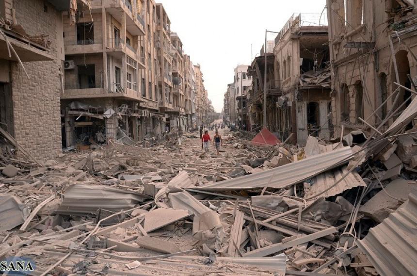 Petogodišnja razaranja u Siriji - Grad Alep