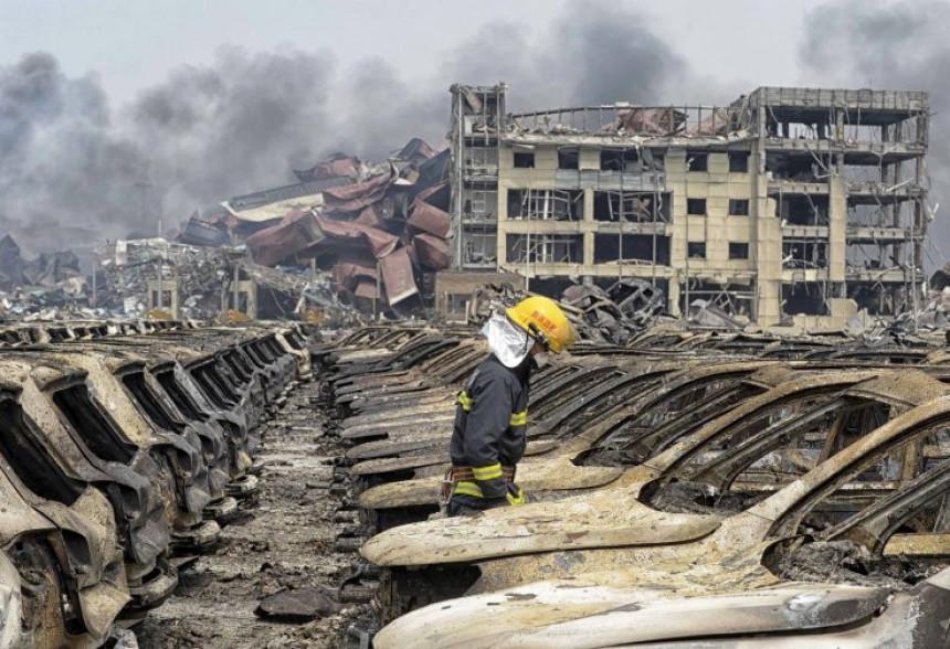 Eksplozija u kineskom gradu Tijanđinu