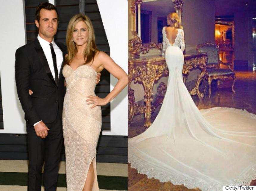 Kako je bilo na vjenčanju Dženifer i Džastina!