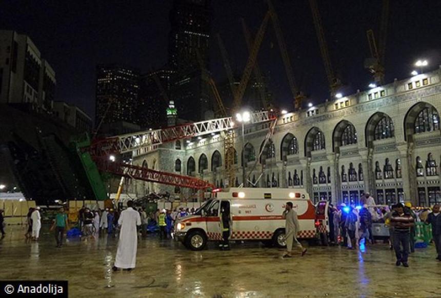 Raste broj poginulih u džamiji u Meki