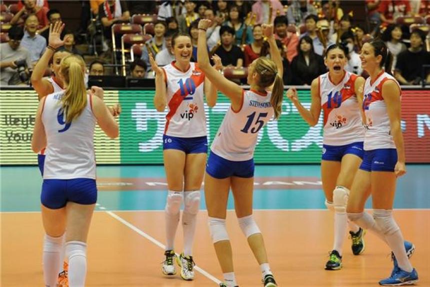 ЕП: Испуњена жеља - Српкиње са Белгијанкама у 1/4-финалу!
