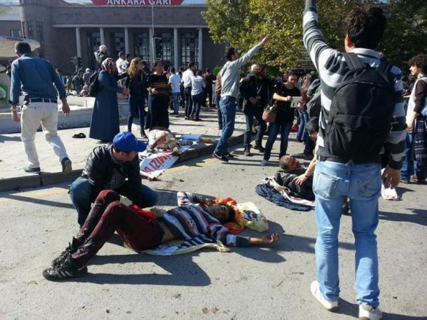 Stravičan trenutak: Momenat kada se protest pretvorilo u tragediju u Ankari