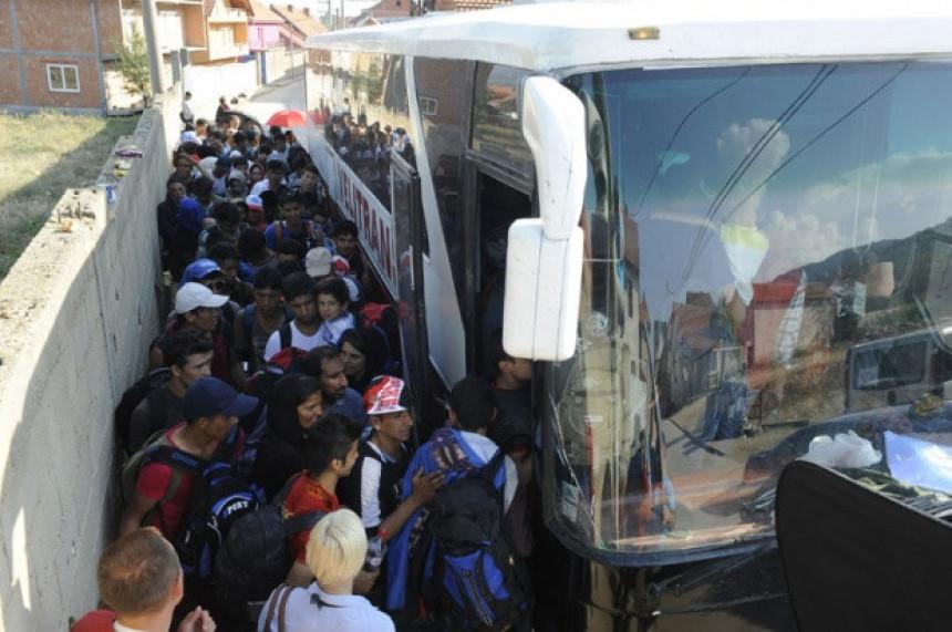 """Prevoznici migrante voze """"preko veze"""""""