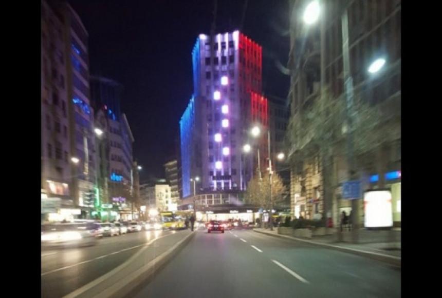 Beograd šalje podršku francuskom narodu!