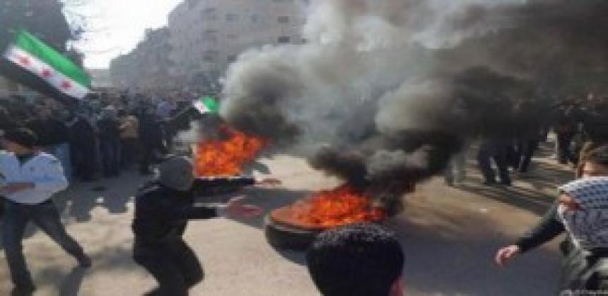 Žestoki sukobi u Damasku
