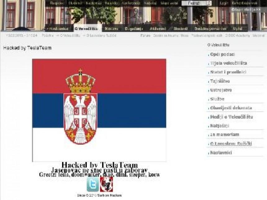 Srpski hakeri održali čas istorije o Jasenovcu
