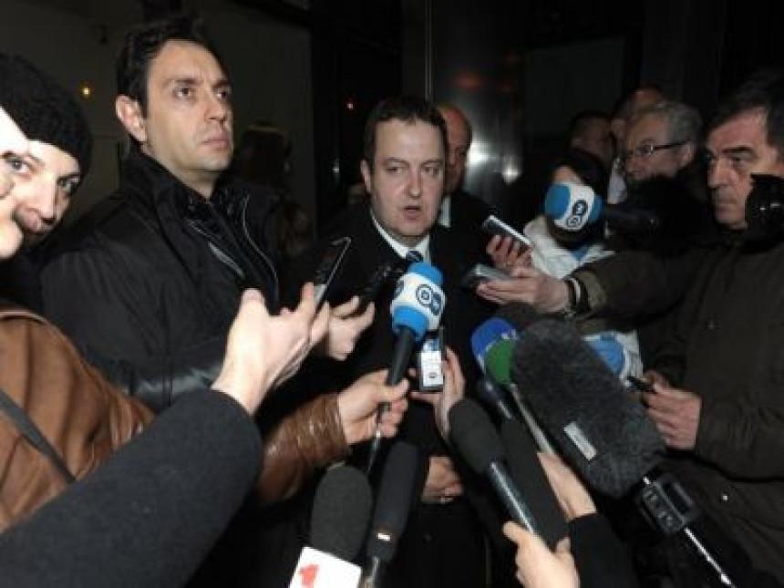 Srpska delegacija iz Brisela stigla kod Nikolića