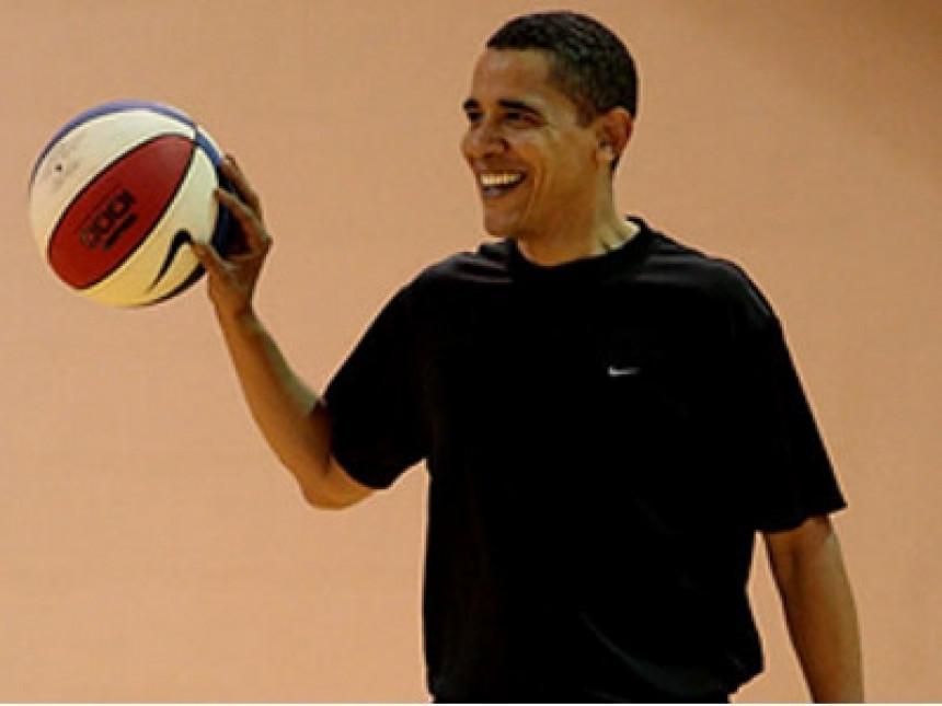Obama antitalenat za košarku