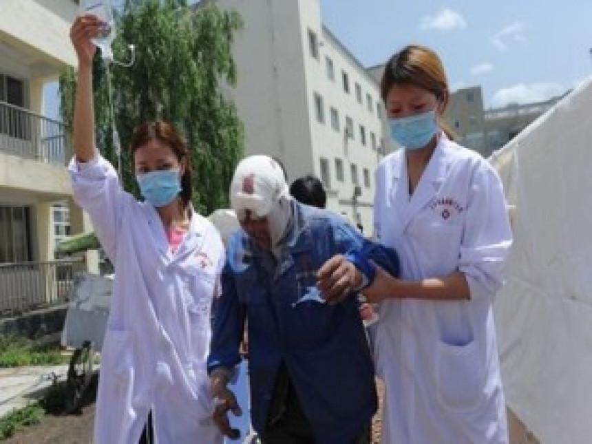 Kina: 113 mrtvih, 3.000 povrijeđenih