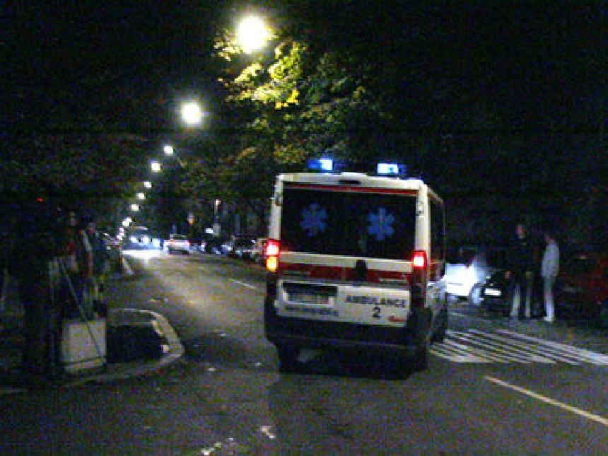 Vozač uletio u grupu pješaka u Novom Sadu, povrijeđene četiri osobe