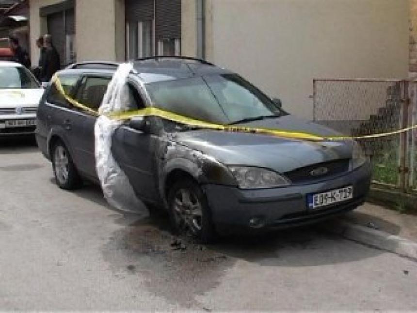 Brčko: U požaru oštećen automobil (VIDEO)