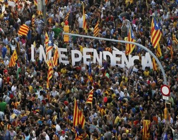 Katalonci demonstriraju za nezavisnost