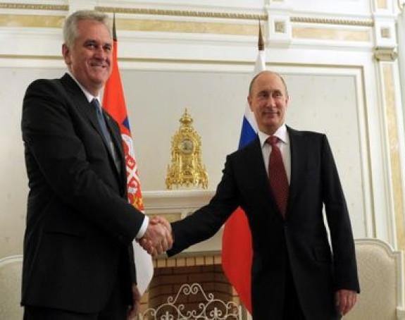 Nikolić sa Putinom u Moskvi