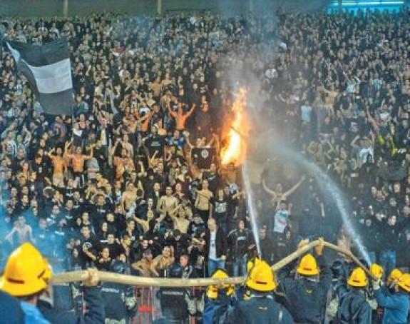 Huliganima pet godina zabrane ulaska na stadion