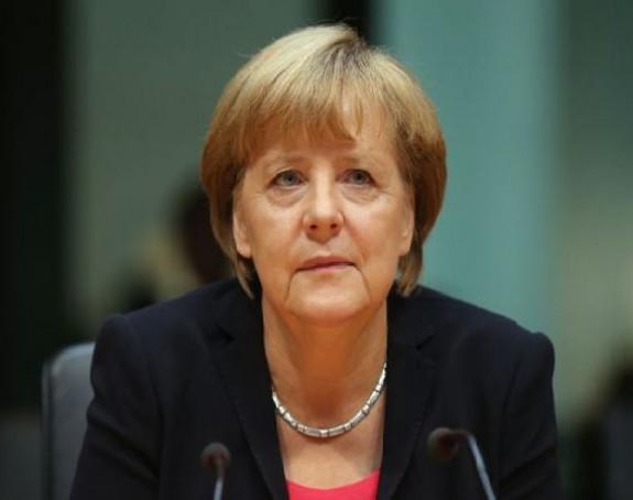 Merkelova nezadovoljna Rusijom