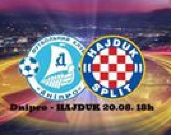 Dnjepar jedva 2:1 protiv Hajduka!