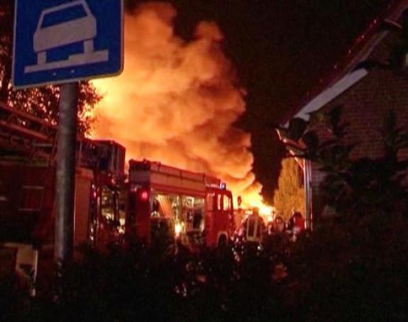 Njemačka: Velika eksplozija u fabrici