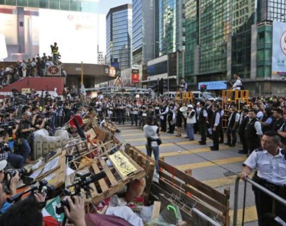 Hong Kong: Uhapšeno 80 ljudi