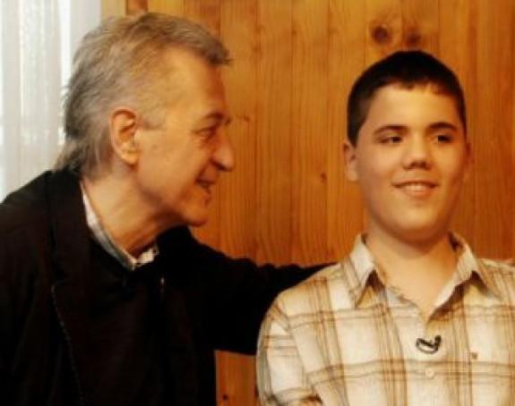 Miroslav Ilić oduševio bolesnog dječaka