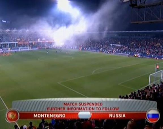 UEFA: Crna Gora - Rusija 0:3!
