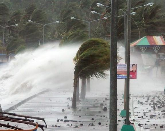 Tajfun Noul se približava Filipinima