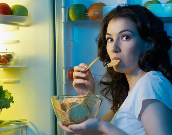 Uveče je lakše pretjerati sa jelom